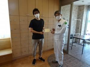 左:(福)元気村 佐々木様 右:フクダエンジニアリング(株) 飯田部長